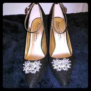 Nwot Tags Badgley Mischka heels sz 8.5